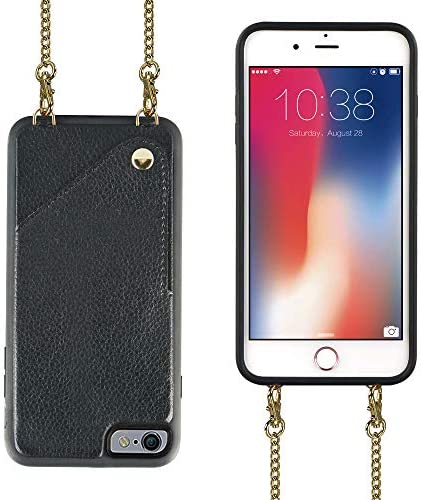 iPhone JLFCH Leather Crossbody Protection