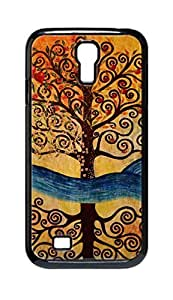 Cool Painting tree of life Snap-on Hard Back Case Cover Shell for Samsung GALAXY S4 I9500 I9502 I9508 I959 -1342