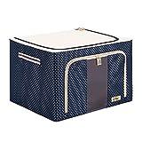 Instill 2 Pack - 66L Stackable Storage Box Polka