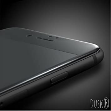 sports shoes 15573 15812 Dusk® Tempered Glass Full Coverage Screen Protector for Apple iPhone 6 / 6S  PLUS 3D Curved Carbon Fibre For Maximum Protection 9H Hardness (6 PLUS) ...
