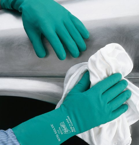 Best Nitri Solve Chemical Resistant Gloves Xxlarge