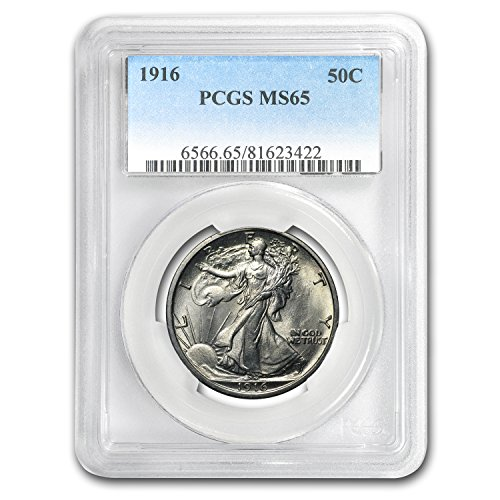 1916 Walking Liberty Half Dollar MS-65 PCGS Half Dollar MS-65 PCGS