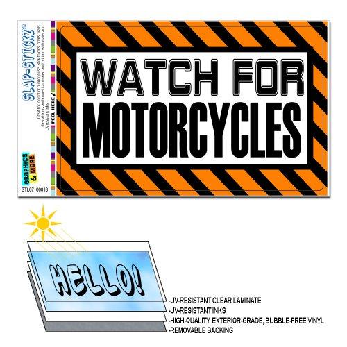 Watch Motorcycles Orange SLAP STICKZ Automotive