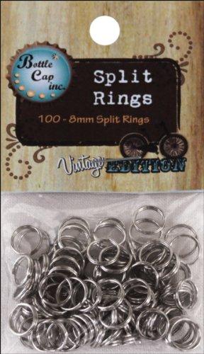 8mm split rings - 3