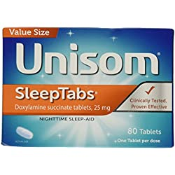 Unisom Sleep Tablets, 80 Count