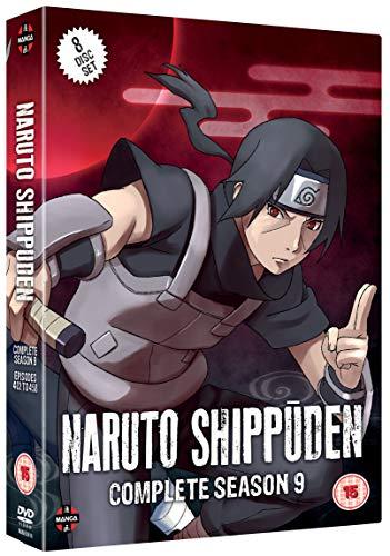 Naruto Shippuden Complete Series 9 Box Set (Episodes 402-458) - Complete Naruto Series