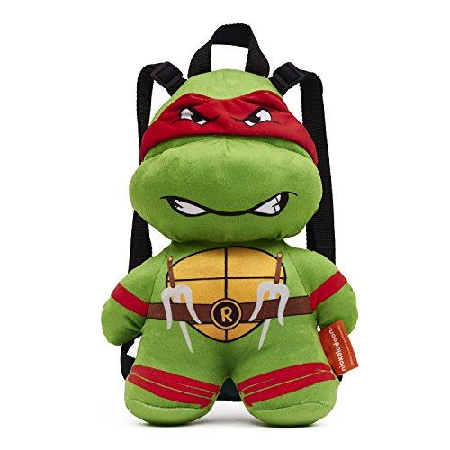 Teenage Mutant Ninja Turtles Raphael Plush Backpack- One Size ()