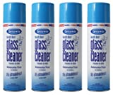 Sprayway Glass Cleaner Aerosol Spray, 19 oz (4 Pack)