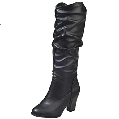 45312247180dd Amazon.com: Aurorax Woman Knee High Riding Boots,Lady Boot,Fashion ...