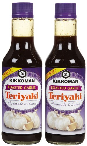 kikkoman-roasted-garlic-teriyaki-marinade-sauce-10-oz-2-pk