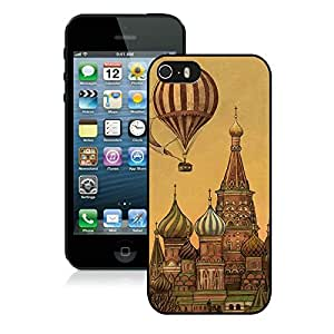 Classic Top Art Design black for iPhone 5S Phone Cover