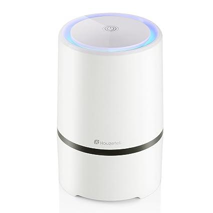 houzetek air purifier with true hepa filter, air purifier odor ...