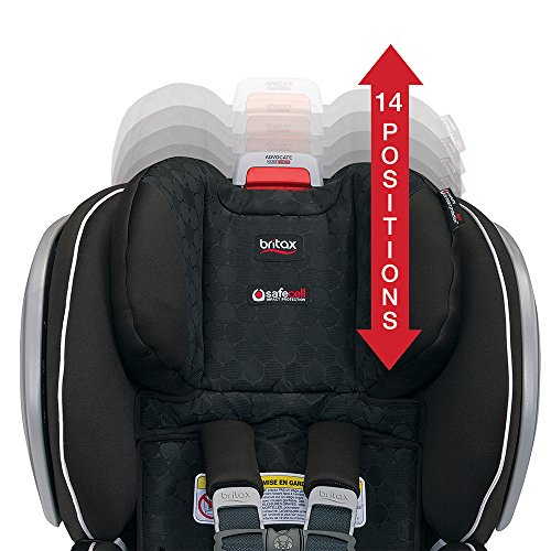 51OsmPkfSHL - Britax Advocate ClickTight Convertible Car Seat | 3 Layer Impact Protection - Rear & Forward Facing - 5 To 65 Pounds, Venti