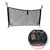 VaygWay Trunk Cargo Net Organizer- Rear Car Storage Organizer Net- Mesh Hammock Truck SUV Jeep- Grocery Accessories Stretchable Pickup Truck Bed Net