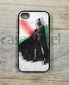 meilinF000Darth Vader Artist Rendition Retro Vintage Artwork Hipster Phone Case for iPhone 5 / 5c (Black)meilinF000
