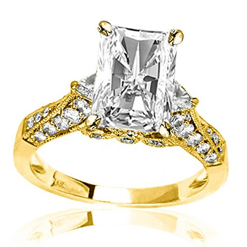 0.58 Ct Radiant Diamond - 9