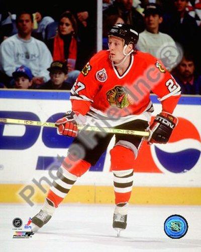 Chicago 8x10 Photo Blackhawks - Jeremy Roenick Chicago Blackhawks NHL Action Photo 8x10 #2
