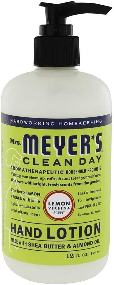 Mrs. Meyer's Clean Day Hand Lotion, Lemon Verbena, 12 Ounce