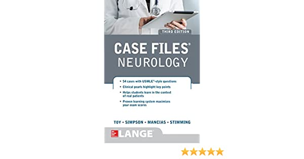 Case Files Neurology Third Edition Kindle Edition By Eugene C