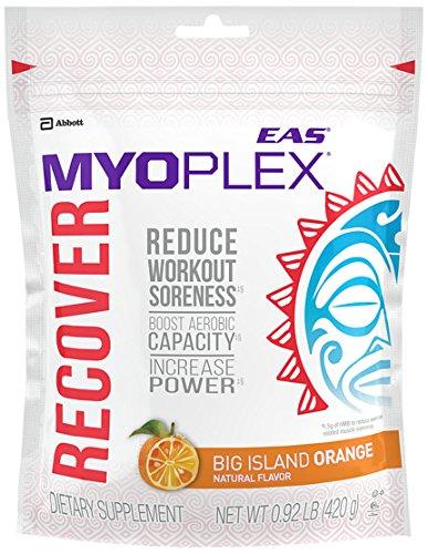 Eas Myoplex Recover Powder Supplement with Amino Acids, for Endurance Athletes, Big Island Orange, 0.92 Pound (Eas L-glutamine Powder)