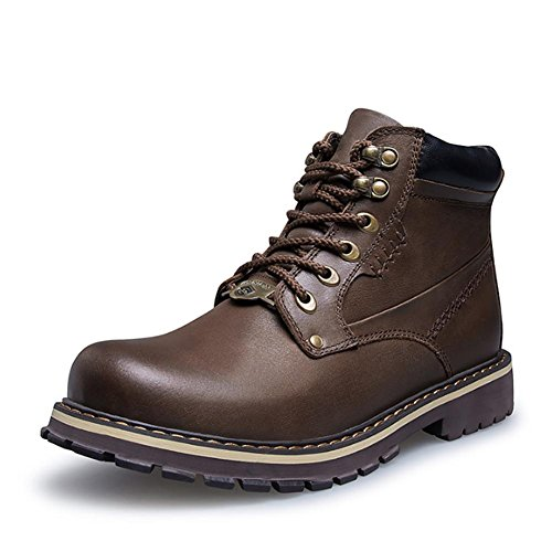 44 Men's hiking boots warm lace outdoor short ankle winter CrCcwOa18