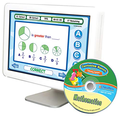 NewPath Learning Mastering Math Curriculum Mastery Game, Grade 2, Class Pack