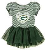 Outerstuff NFL Girl's Infant and Toddlers Celebration Sequin Tutu, Green Bay Packers 24 Months