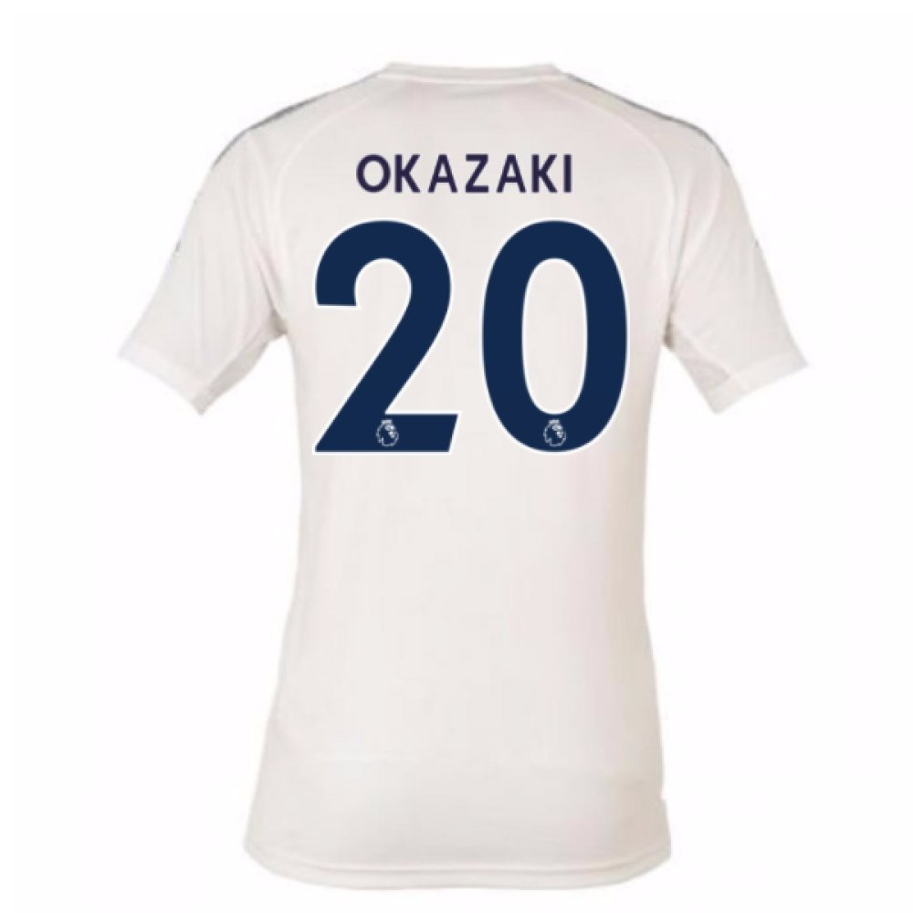 2017-18 Leicester City Third Football Soccer T-Shirt Trikot (Shinji Okazaki 20)