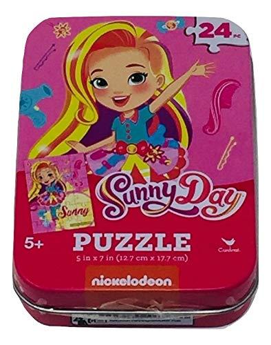 24 Piece Three - Vampirina 24 Piece 3 Mini Jigsaw Puzzles in Travel Tin Case: Sunny Day Gift Set Bundle - Little Pony 50 Piece