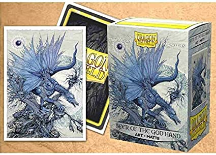 100 Count Seer of The God Hand Dragon Shield Standard Size Matte Art Sleeves