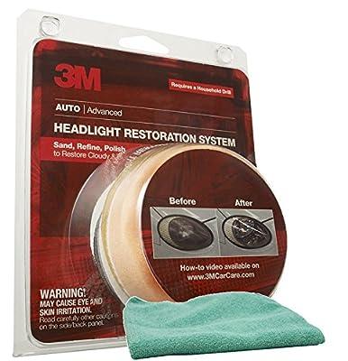 3M Headlight Lens Restoration System & Microfiber Cloth