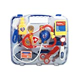 Yimosecoxiang Toys For 1-12 Year Old Girls Boys Prime Kid Child Pretend Toy Set Medicine Box Play Doctor Nurse Medical Kit Playset Blue