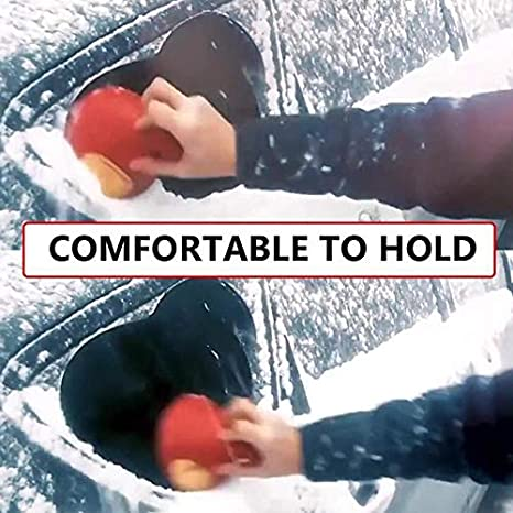 Ohwens Snow Remover Magical Car Windshield ICES Snow Remover Scraper Tool Portable Cone Shaped Funnel Ice Cone Scraper Cone-Shaped Scraping Tool Car Snow Shovel Removal Tool Frost Removal Funnel