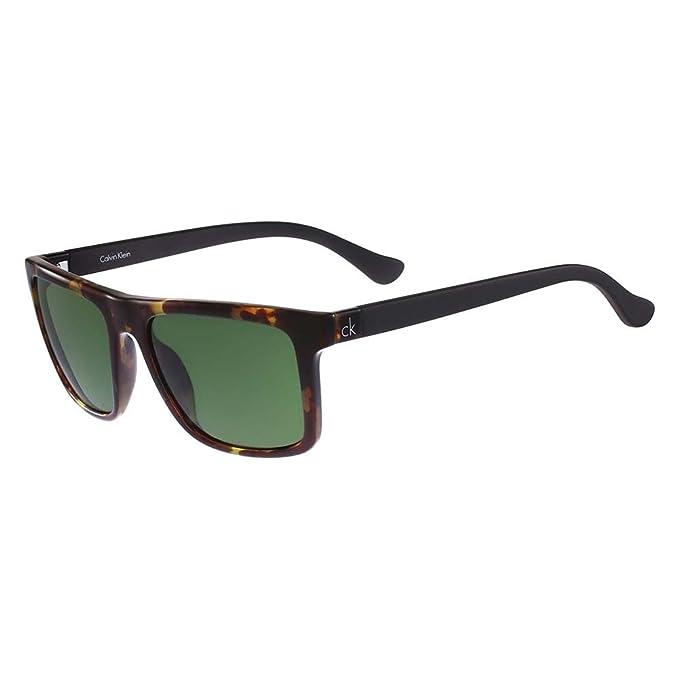 Calvin Klein Damen Sonnenbrille » CK3177S«, braun, 214 - braun/grün