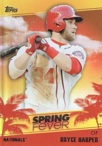 2014 Topps Spring Fever #SF-34 Bryce Harper Nationals MLB Baseball Card/None -