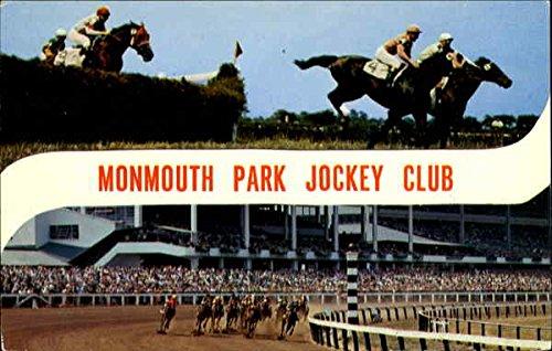 - Monmouth Park Jockey Club, Monmouth Park Oceanport, New Jersey Original Vintage Postcard