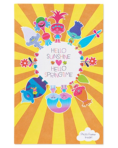 American Greetings Trolls Easter Card