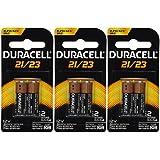6 (3x2) Duracell Duralock MN21B2PK Watch / Electronic/ Keyless Entry Batteries, 12 Volt Alkaline