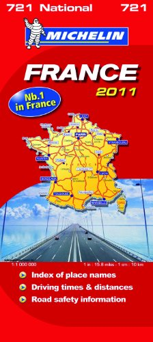 France National Map 2011 2011 (Michelin National Maps)