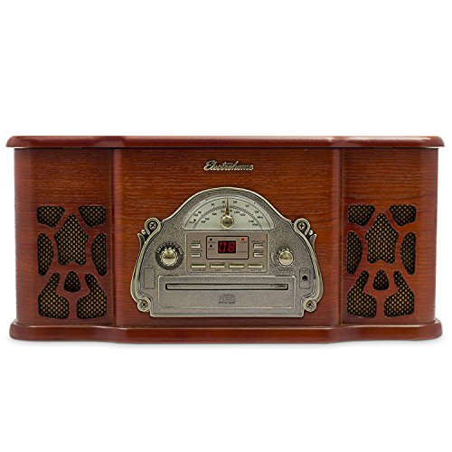 Electrohome Winston Vinyl Record Player 3 In 1 Classic