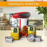 Electric Can Opener, Restaurant Can Opener, Full