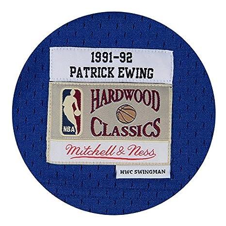 Amazon.com   Patrick Ewing New York Knicks Mitchell   Ness NBA Throwback HWC  Jersey - Blue   Sports   Outdoors 4b52740b3