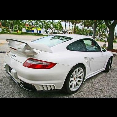 Porsche 997 GT2 Rear Bumper for 997 Carrera & Turbo