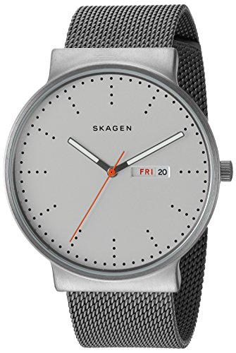 Skagen Men's SKW6321 Ancher Titanium Grey Mesh - Mesh Watch Titanium