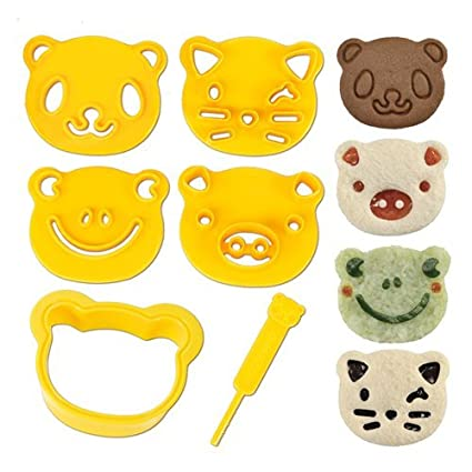 Amazon CuteZCute Animal Friends Food Deco Cutter And Stamp Kit