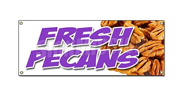 WE BUY /& SELL PECANS Banner Sign NEW
