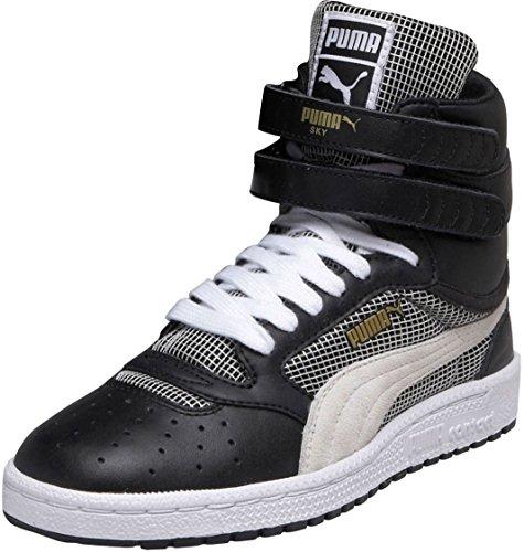 Puma - Kvinna Himmel Ii Hi Block Och Band Skor, Storlek: 11 B (m) Oss, Färg: Svart / Vit