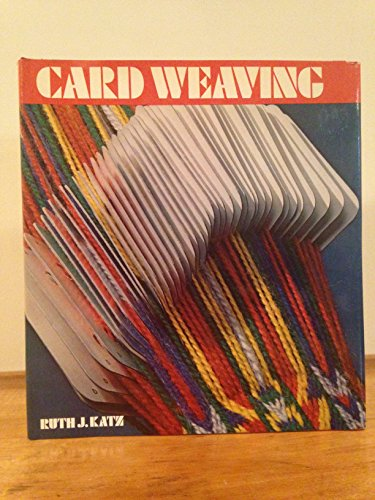 Card Weaving by Van Nostrand Reinhold Company
