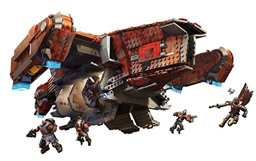 Mega Construx Destiny Signature Series Cabal Harvester Dropship Signature Series