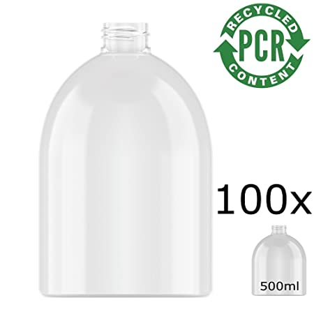 100% PCR - rPET Botella Neville Round, PET 500 ml Incluye ...